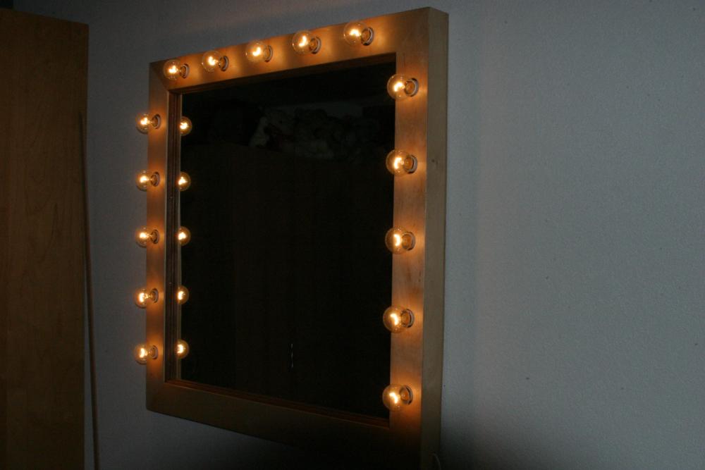 Spiegel met verlichting   Lodiwen